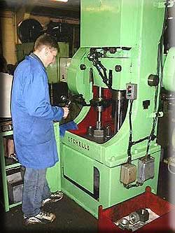Twin-Spindle Vertical Tapping Machine