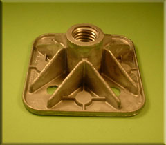 Aluminium Floor Support Casting